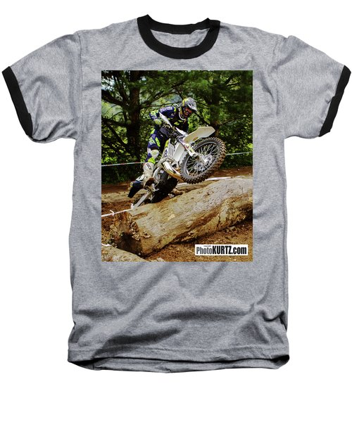 Graham Jarvis At 2017 Kenda Tennessee Knockout Enduro Baseball T-Shirt