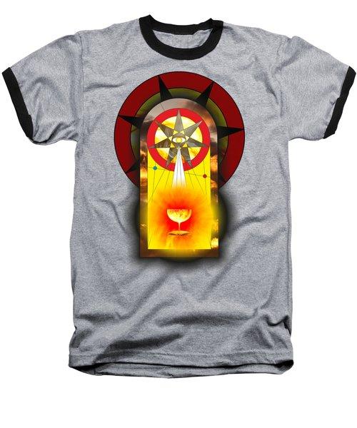 Grail Magic By Pierre Blanchard Baseball T-Shirt by Pierre Blanchard