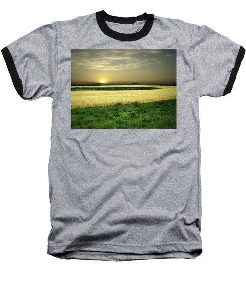 Grain Field Baseball T-Shirt
