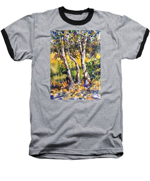 Grainery Poplars Baseball T-Shirt