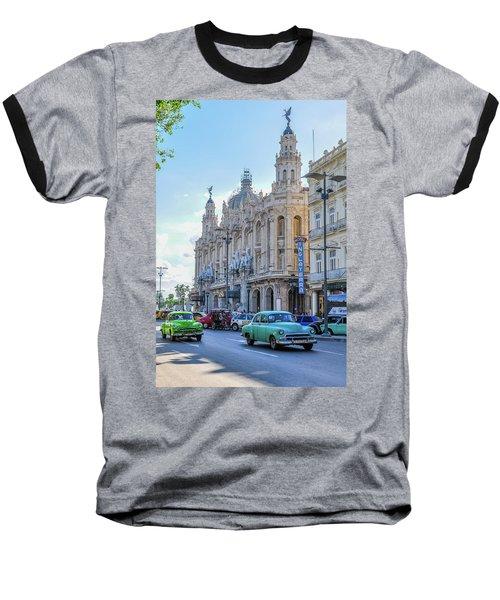Gran Teatro De La Habana Baseball T-Shirt