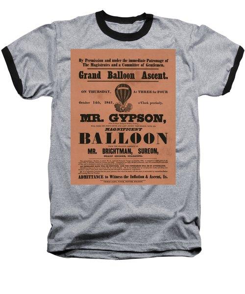 Grand Balloon Ascention Baseball T-Shirt