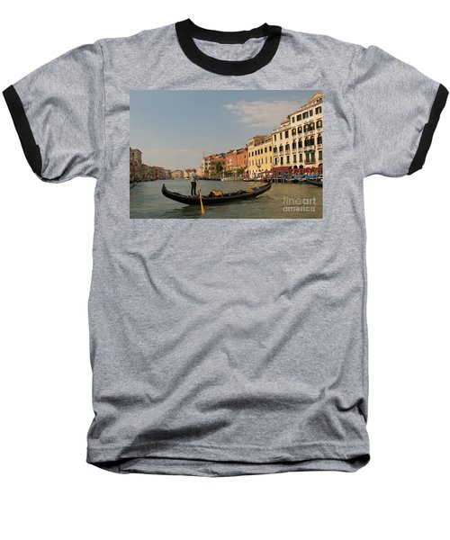 Grand Canal Gondola Baseball T-Shirt