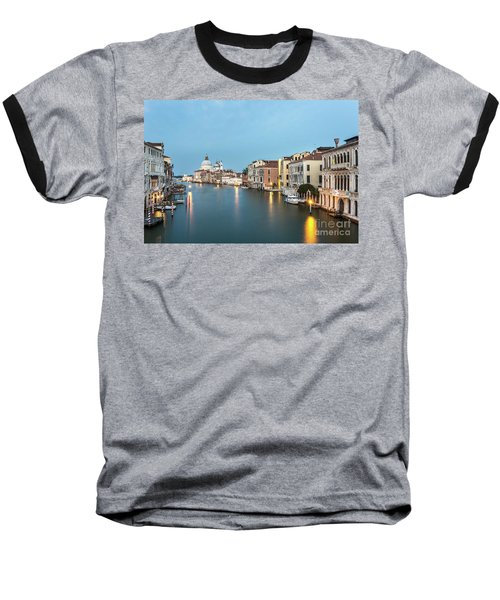 Grand Canal In Venice, Italy Baseball T-Shirt