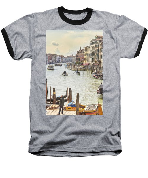 Grand Canal - The Most Famous Canal In Venice Baseball T-Shirt
