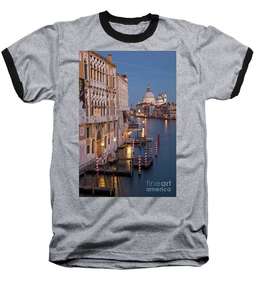 Baseball T-Shirt featuring the photograph Grand Canal Twilight II by Brian Jannsen