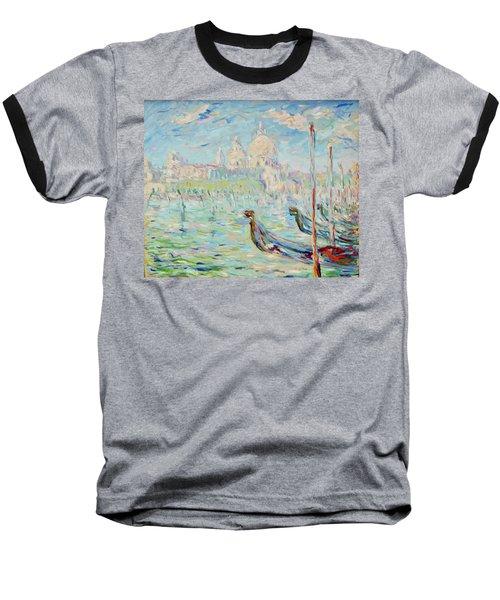 Grand Canal Venice Baseball T-Shirt