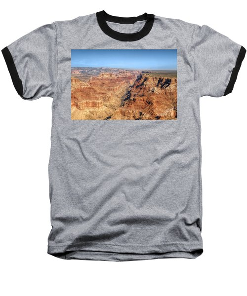Grand Canyon Aerial View Baseball T-Shirt