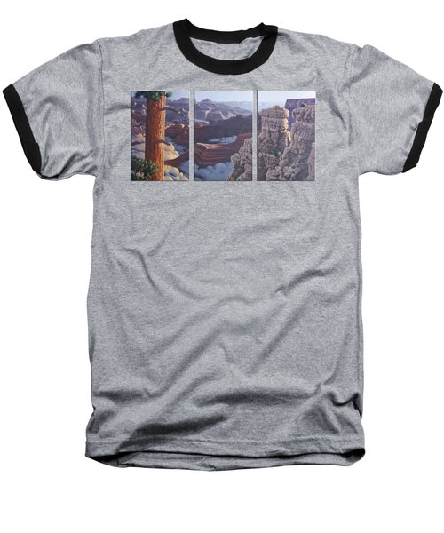 Grand Canyon Dawn Baseball T-Shirt