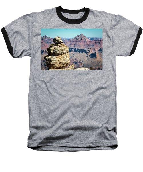 Grand Canyon Duck On A Rock Baseball T-Shirt