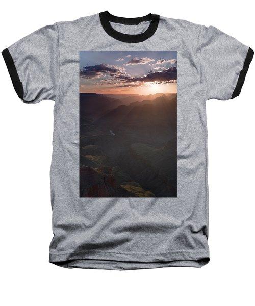 Grand Canyon Glow Baseball T-Shirt