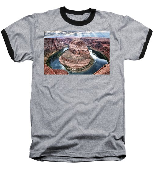 Grand Canyon Horseshoe Bend Baseball T-Shirt