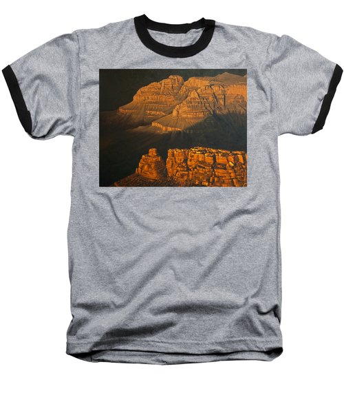 Grand Canyon Meditation Baseball T-Shirt