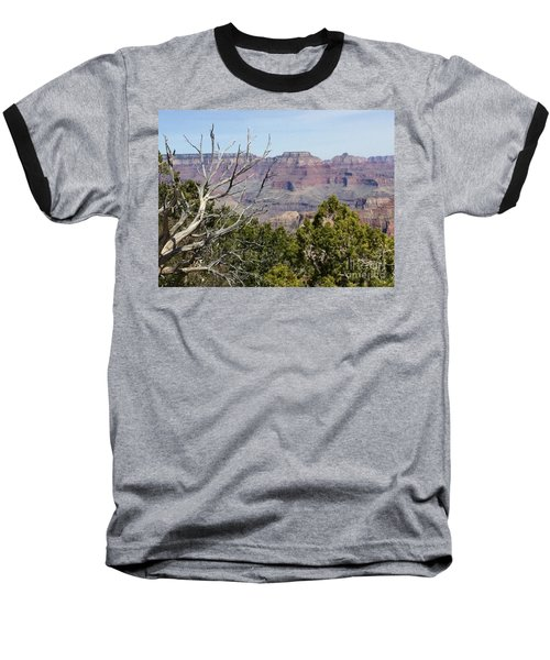 Grand Canyon National Park South Rim Baseball T-Shirt by Patricia E Sundik