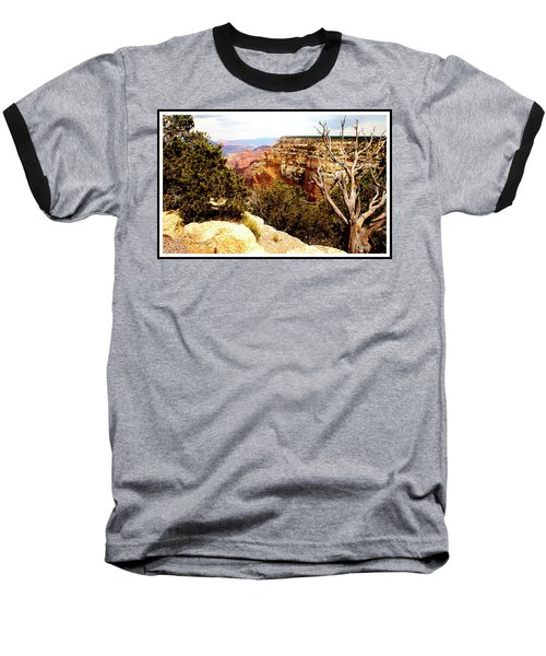 Grand Canyon National Park, Arizona Baseball T-Shirt by A Gurmankin
