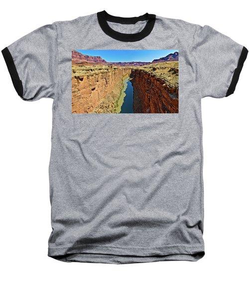 Grand Canyon National Park Colorado River Baseball T-Shirt