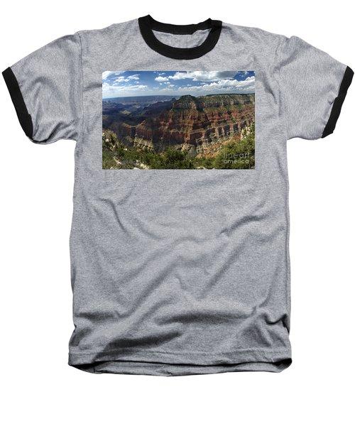 Grand Canyon North Rim Baseball T-Shirt