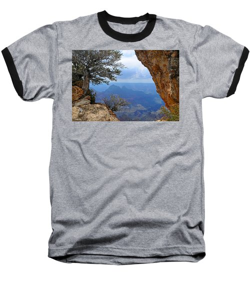 Grand Canyon North Rim Window In The Rock Baseball T-Shirt