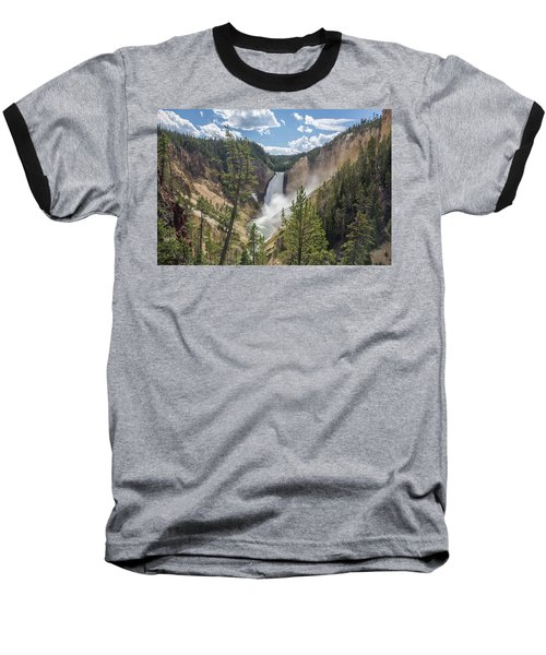 Grand Canyon Of Yellowstone Baseball T-Shirt