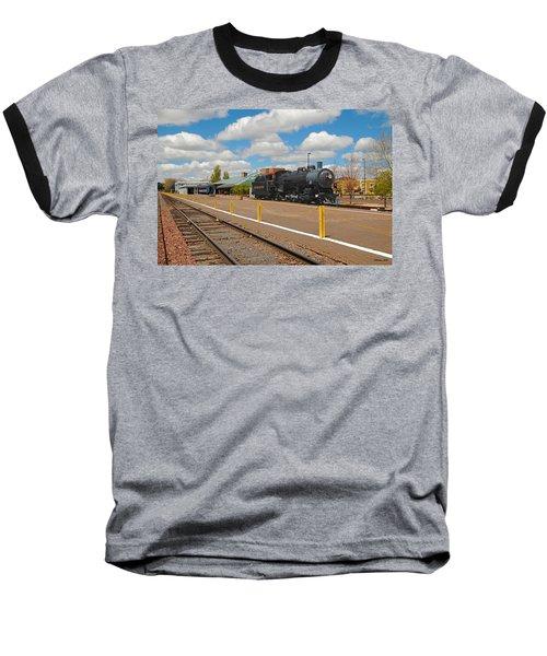 Grand Canyon Railway Baseball T-Shirt