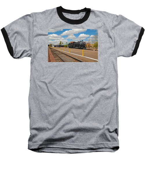 Grand Canyon Railway Baseball T-Shirt