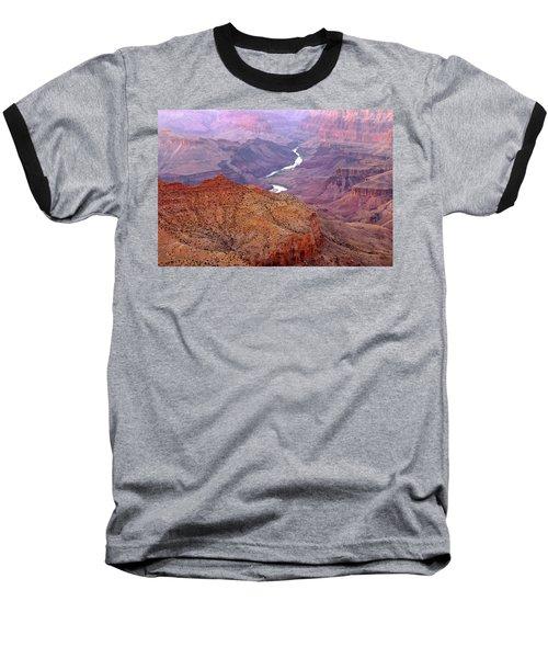 Grand Canyon River View Baseball T-Shirt
