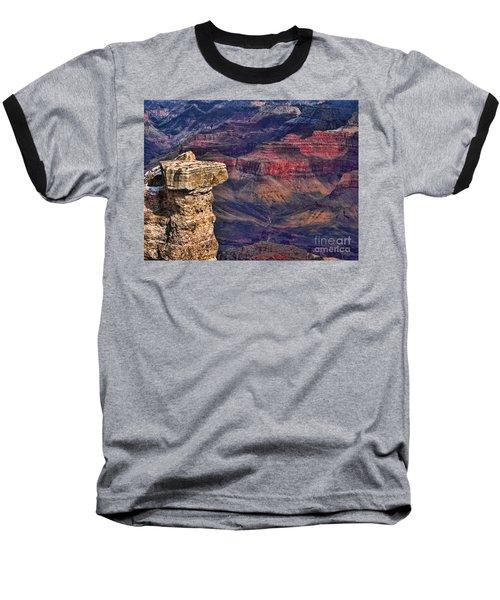 Grand Canyon Stacked Rock Baseball T-Shirt
