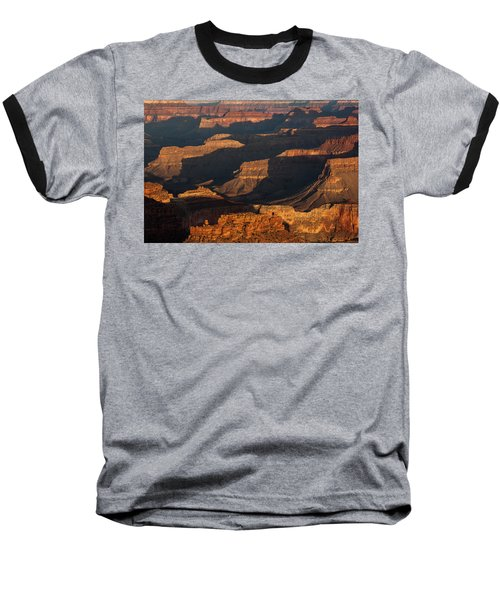 Grand Canyon Sunrise Baseball T-Shirt