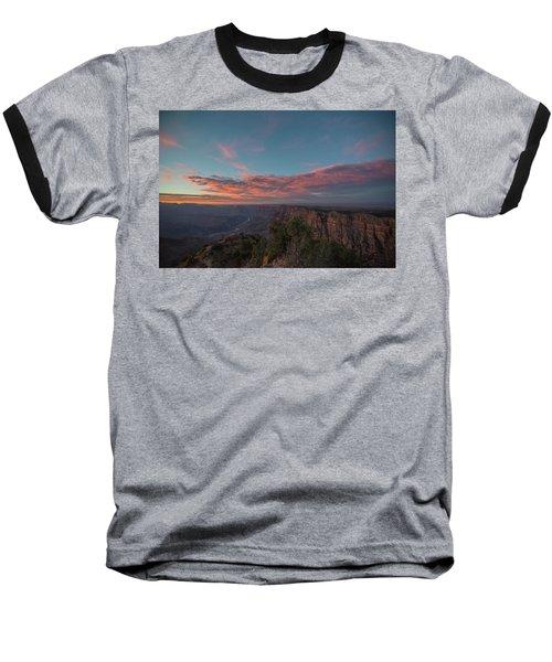 Grand Canyon Sunset 1943 Baseball T-Shirt
