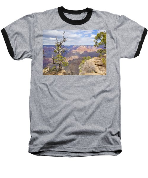 Baseball T-Shirt featuring the photograph Grand Canyon View by Chris Dutton