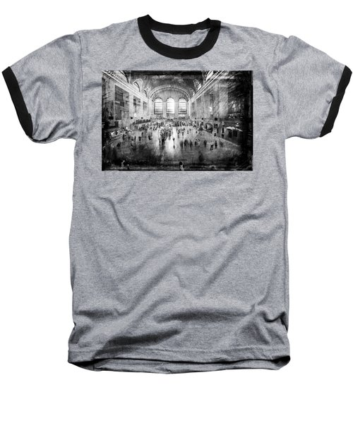 Grand Central Terminal Baseball T-Shirt
