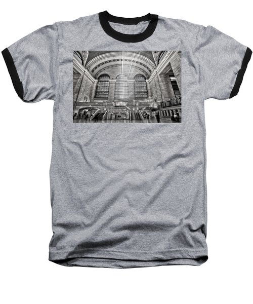 Grand Central Terminal Station Baseball T-Shirt by Susan Candelario