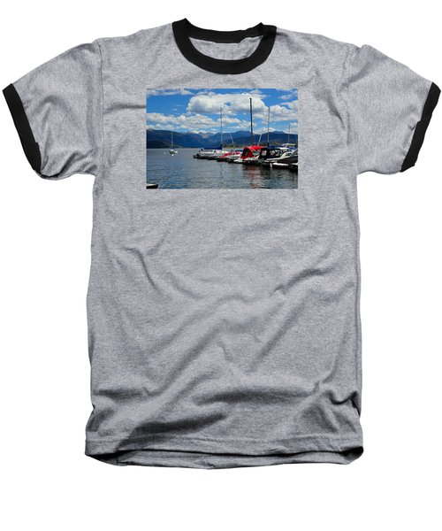 Grand Lake And Indian Peaks Wilderness Baseball T-Shirt