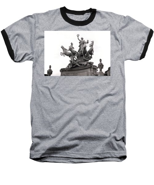 Grand Palais Quadriga Baseball T-Shirt