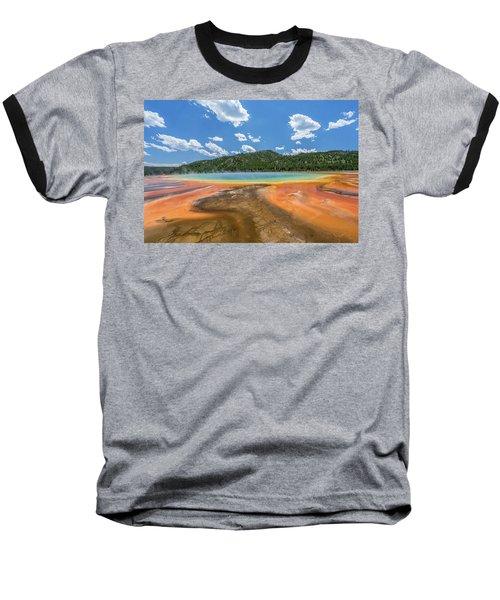 Grand Prismatic Baseball T-Shirt by Alpha Wanderlust