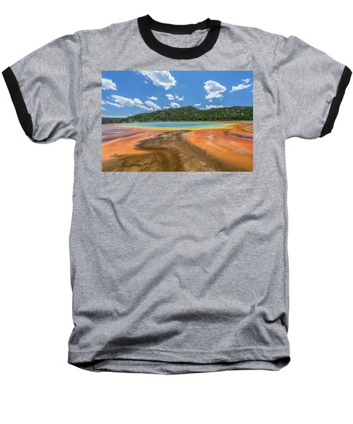 Grand Prismatic Baseball T-Shirt