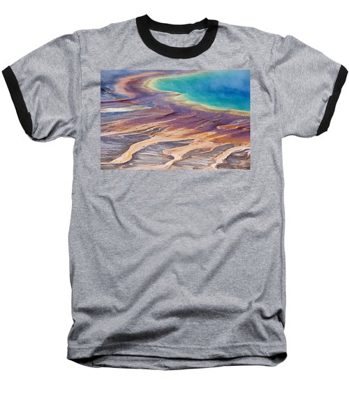Grand Prismatic Spring 2 Baseball T-Shirt