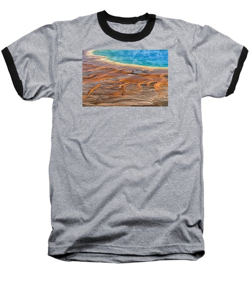 Grand Prismatic Spring Baseball T-Shirt