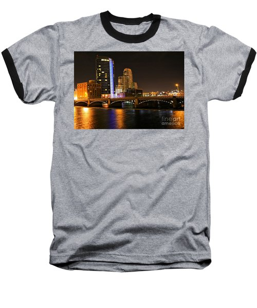 Grand Rapids Mi Under The Lights Baseball T-Shirt