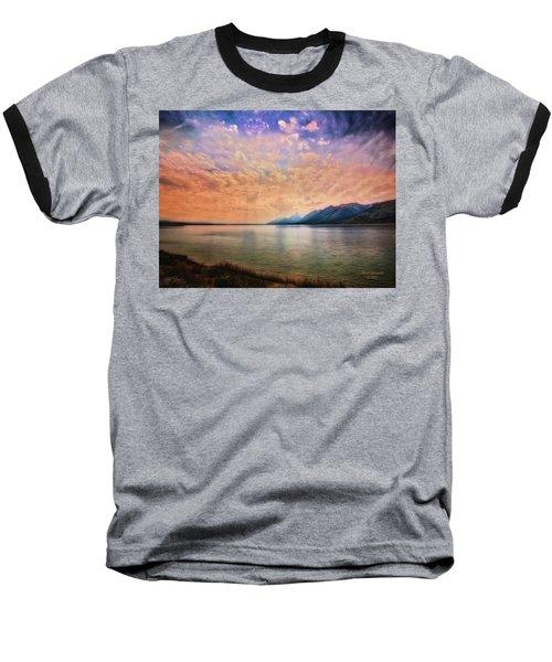 Grand Teton National Park - Jenny Lake Baseball T-Shirt