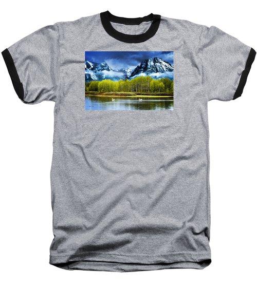 Grand Teton National Park Baseball T-Shirt