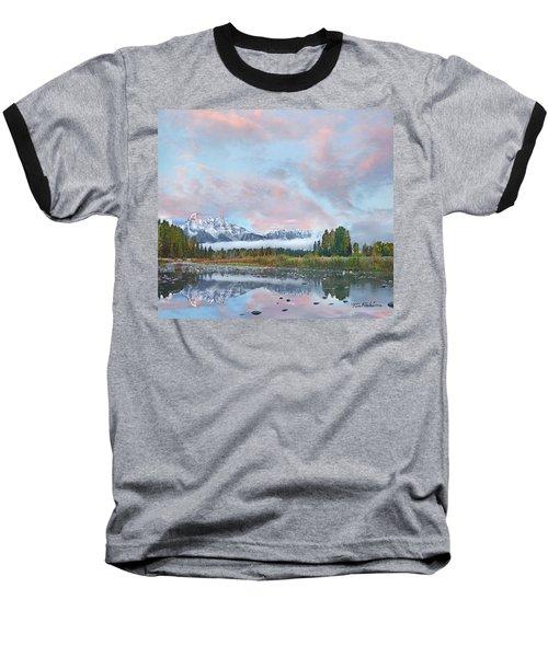 Grand Teton National Park, Wyoming Baseball T-Shirt