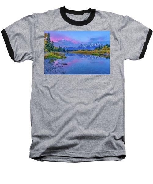 Grand Teton Sunrise Baseball T-Shirt