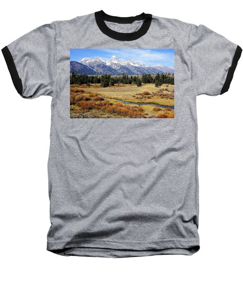 Grand Teton Baseball T-Shirt