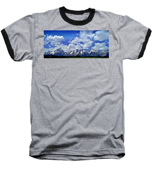 Grand Tetons Baseball T-Shirt
