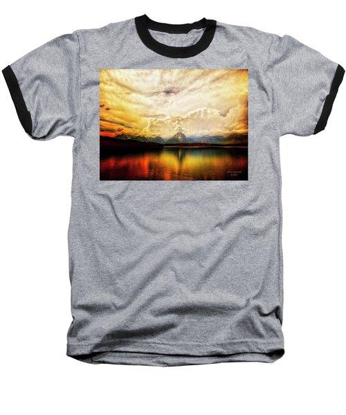 Grand Tetons - Jenny Lake No. 2 Baseball T-Shirt