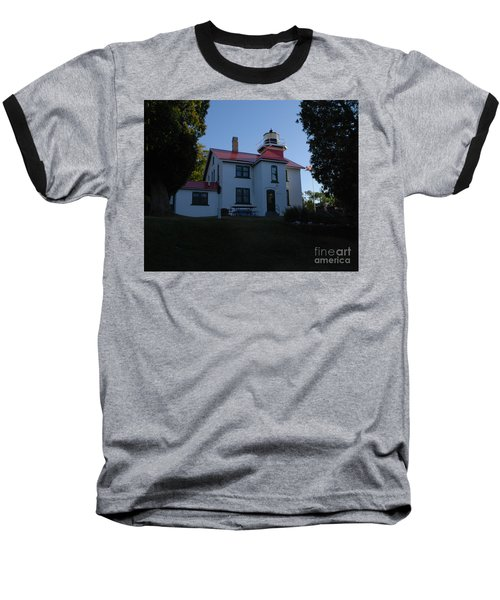 Grand Traverse Light House Baseball T-Shirt