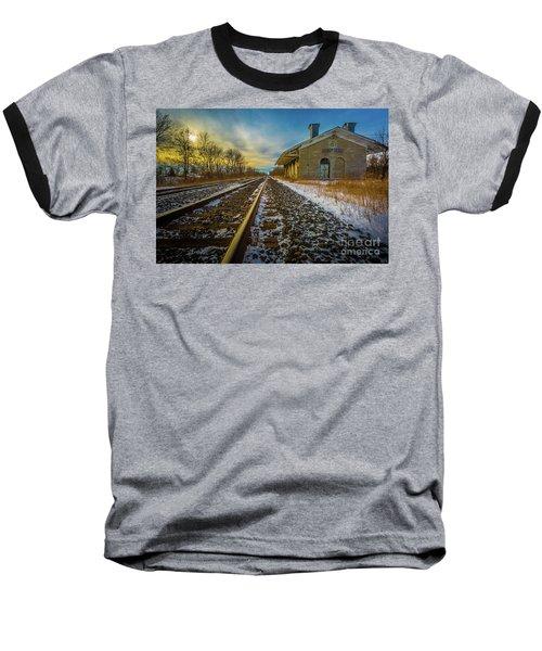 Grand Trunk Station  Baseball T-Shirt