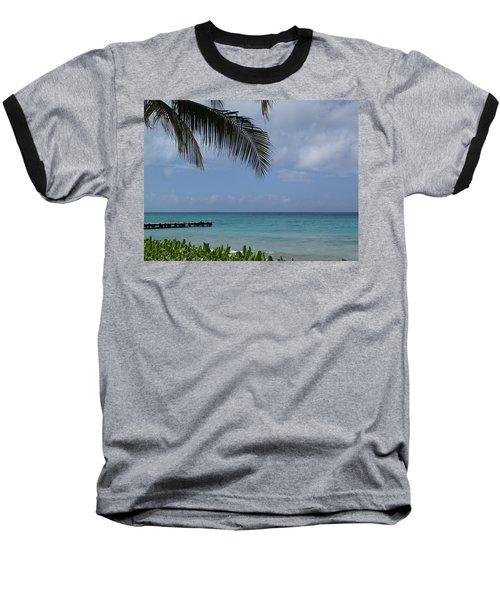 Grand Turk Baseball T-Shirt by Lois Lepisto