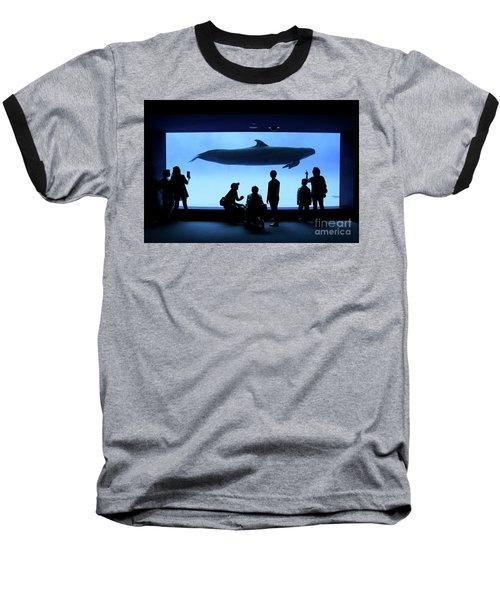 Baseball T-Shirt featuring the photograph Grand Whale by Tatsuya Atarashi